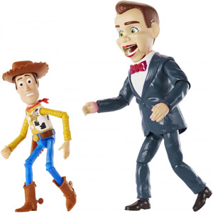 Disney•Pixar Toy Story 4 Benson and Woody 2-Pack