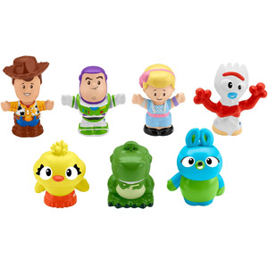 Disney•Pixar Toy Story 4 Little People 7 Friends Pack