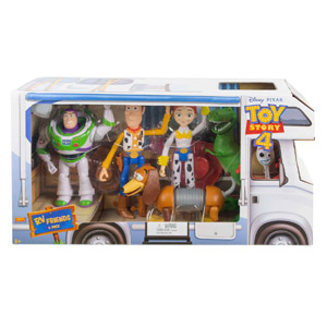 Disney•Pixar Toy Story 4 RV Friends 6 Pack