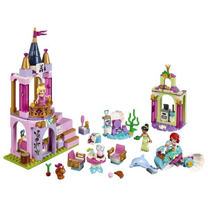LEGO Disney Princess Ariel, Aurora, and Tianas Royal Celebration 41162