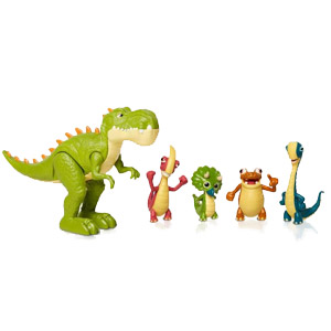 Gigantosaurus Giganto & Friends Figure Set