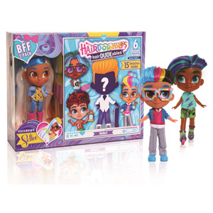 Hairdorables HairDUDEables BFF 2-Pack