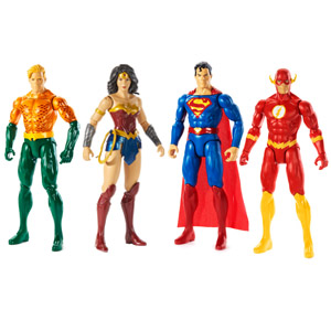 Justice League True Moves Action Figures 12""