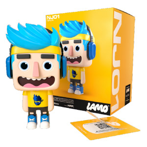 "LAMO 4"" Vinyl Augmented Reality Figures"