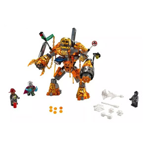 LEGO Marvel Spider-Man: Far From Home Molten Man Battle 76128