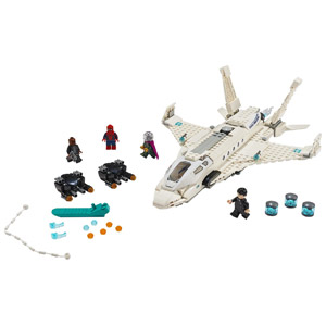 LEGO Marvel Spider-Man: Far From Home Stark Jet and the Drone Attack 76130