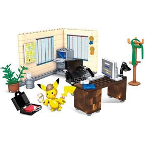 Mega Construx Detective Pikachu Office