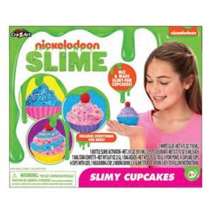 Nickelodeon Slime Slimy Cupcakes