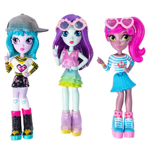 Off The Hook Style Doll, 3-Pk