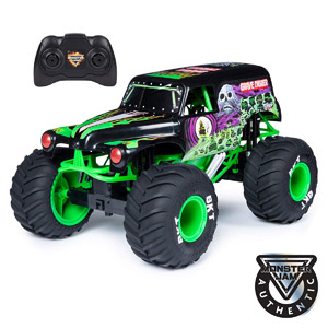 Official Monster Jam 1:10 RC Grave Digger Truck