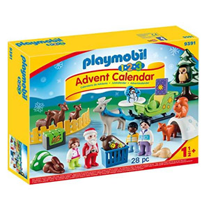 PLAYMOBIL 1.2.3 Advent Calendar - Christmas in the Forest (9391)
