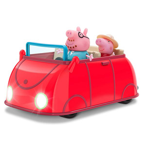 Peppa Pigs Lights & Sounds Family Fun Car