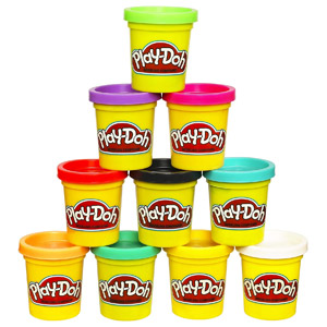 Play-Doh Modeling Compound, 10-Pk