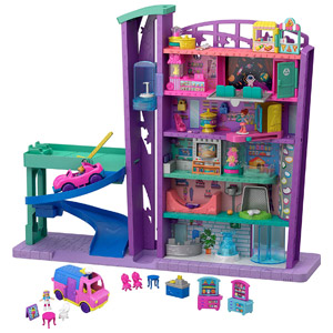Polly Pocket Pollyville Mega Mall Super Pack