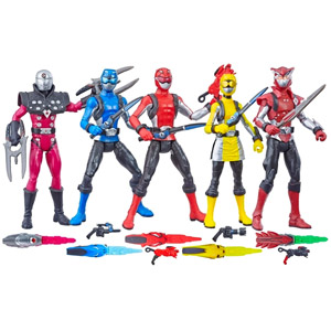 Power Rangers Beast Morphers 6-Inch Core Figure Assortment