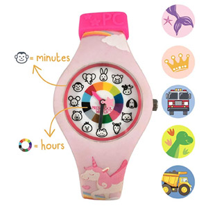 Preschool Watch Unicorn Silicone
