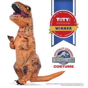 Rubies Jurassic World T-Rex Inflatable Costume