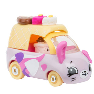 Shopkins Cutie Cars Color Change Cars Season 3