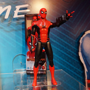Spider-Man: Far From Home Titan Hero Suit Spider-Man Figure
