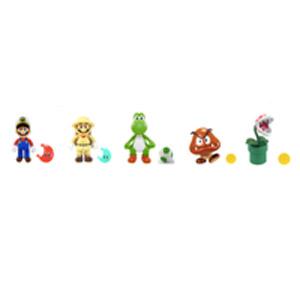 Super Mario 4-inch Figures