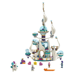The LEGO Movie 2: Queen Watevra's 'So-Not-Evil' Space Palace 70838