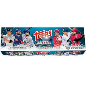 Topps Baseball Complete Set 2018