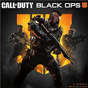 2019 Call of Duty Wall Calendar