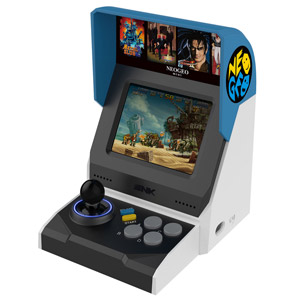 ff78371e7 All of our favorite retro consoles are getting miniaturized. Back in the  day, gamers use to love playing NeoGeo games at the arcade.