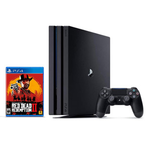 PlayStation 4 Pro - Red Dead Redemption 2 Bundle