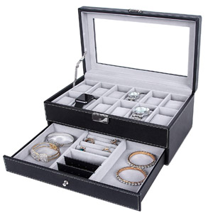 SONGMICS Watch Box