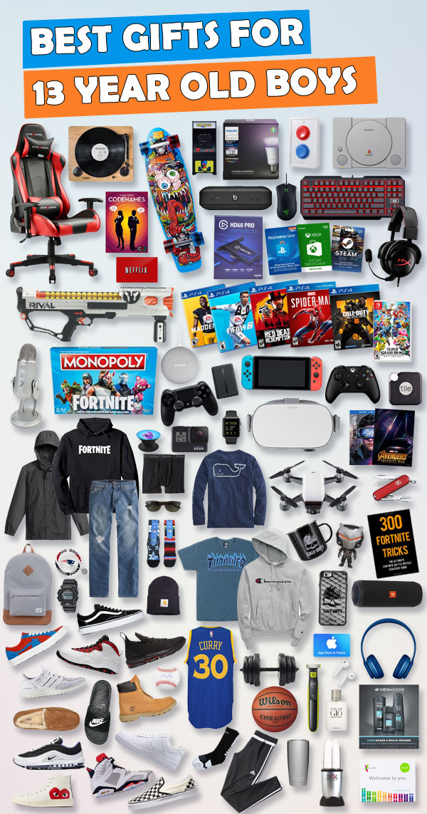 Top Gifts for 13 Year Old Boys  UPDATED LIST  cb20bb4815a3