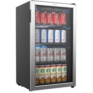 hOmeLabs Beverage Refrigerator