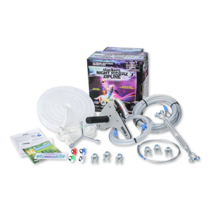 100 Slackers Night Riderz Zipline Kit