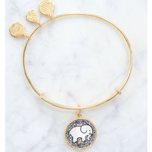 Alex and Ani Ivory Ella Bracelet