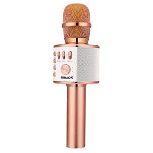 BONAOK Bluetooth Karaoke Microphone