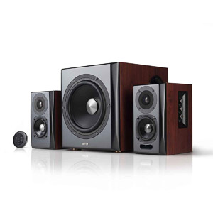 Edifier S350DB Bookshelf Speaker and Subwoofer 2.1 Speaker System