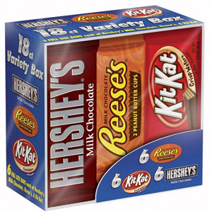 HERSHEYS Chocolate Candy Bar Variety Pack