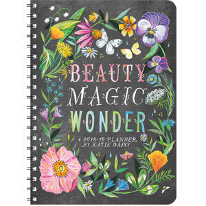 Katie Daisy 2018 - 2019 On-the-Go Weekly Planner