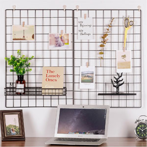 Kufox Painted Wire Wall Grid Panel