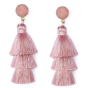 Me&Hz Tassel Dangle Earrings