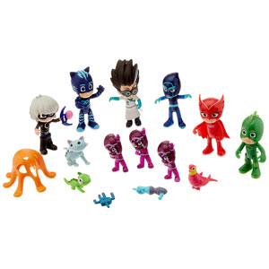 PJ Masks Deluxe 16-Pc Figure Set