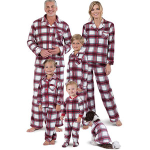 PajamaGram Flannel Matching Family Pajamas