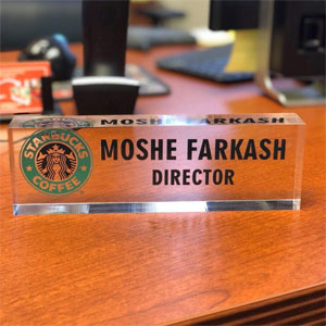 Personalized Name Desk Name Plate