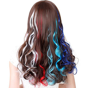 SWACC Multi-Color Clip-On Hair Extensions