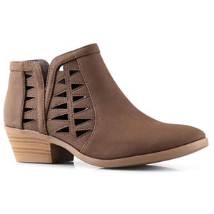 Soda Chance Ankle Bootie