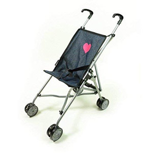 The New York Doll Collection First Umbrella Dolls Stroller