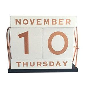YOFIT 21 Vintage Desk Calendar