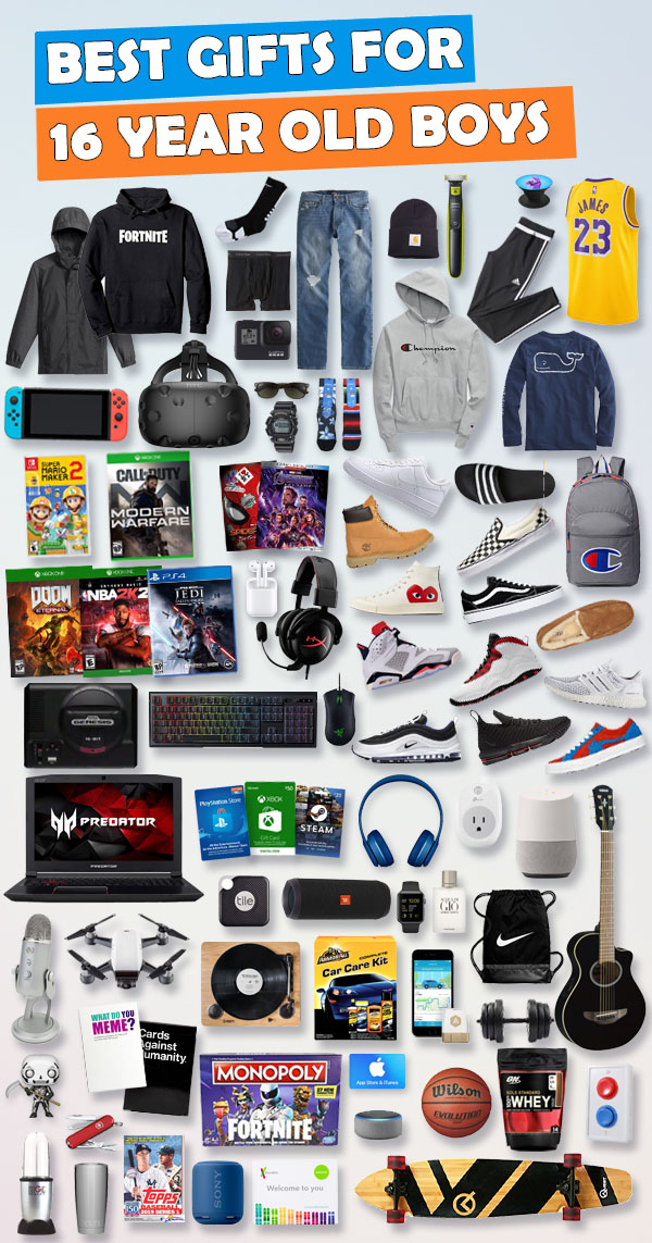 Gifts For 16 Year Old Boys Gift Ideas for 2019