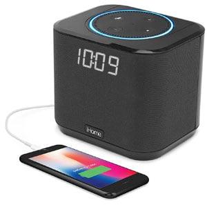 iHome Bedside Alexa Dock iAV2B
