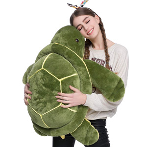 DOLDOA Giant Stuffed Sea Turtle